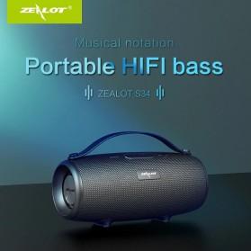 Zealot Portable Wireless Bluetooth Speaker - S34 - Black - 3