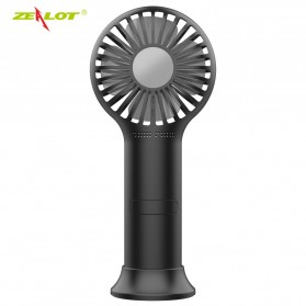 Zealot Bluetooth Speaker with Fan - S48 - Black - 5