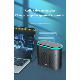 Zealot Portable Bluetooth Speaker - Z1 - Black - 7