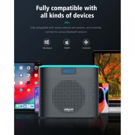 Zealot Portable Bluetooth Speaker - Z1 - Black - 9