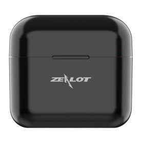 ZEALOT Earphone TWS Bluetooth 5.0 Touch Control with Charging Base - T3 - Black - 3