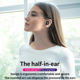 ZEALOT Earphone TWS Bluetooth 5.0 Touch Control with Charging Base - T4 - Black - 4