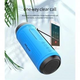 Zealot Portable Wireless Bluetooth Bicycle Speaker Flashlight Radio - A1 - Gray - 3