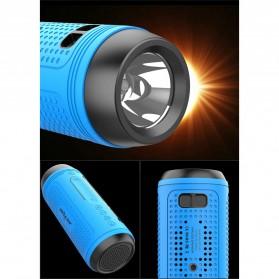 Zealot Portable Wireless Bluetooth Bicycle Speaker Flashlight Radio - A1 - Gray - 5