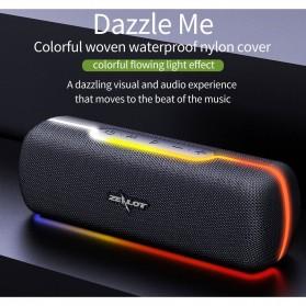 Zealot Portable Bluetooth Speaker RGB LED Effect - S55 - Black - 8