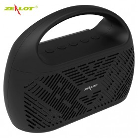 Zealot Portable Bluetooth Speaker Radio 10W - S41 - Black