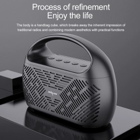 Zealot Portable Bluetooth Speaker Radio 10W - S41 - Black - 4