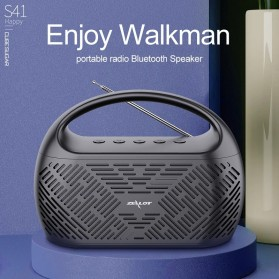 Zealot Portable Bluetooth Speaker Radio 10W - S41 - Black - 7