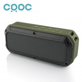 CRDC S200C Wireless Bluetooth Speaker Waterproof IPX6 - Green - 3