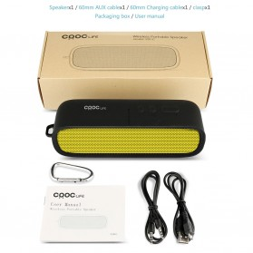 CRDC S201C Wireless Bluetooth Speaker - Black - 8