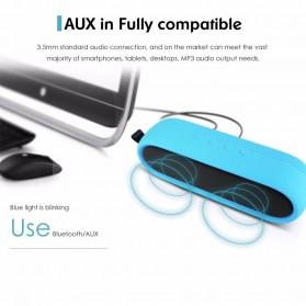 CRDC S202C Wireless Bluetooth Speaker Waterproof IP65 - Black - 6