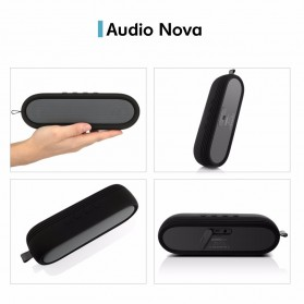 CRDC S202C Wireless Bluetooth Speaker Waterproof IP65 - Black - 8