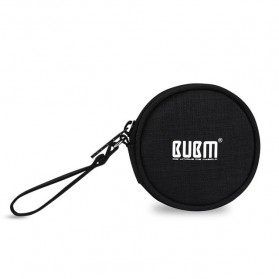BUBM Tas Earphone Organizer Small Accessories - SXT-Y (ORIGINAL) - Black