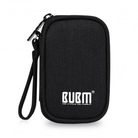 BUBM Tas Earphone Organizer Small Accessories - SXT-C (ORIGINAL) - Black