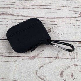 BUBM Silicone Case Waterproof for AirPods Pro Charging Dock - Black