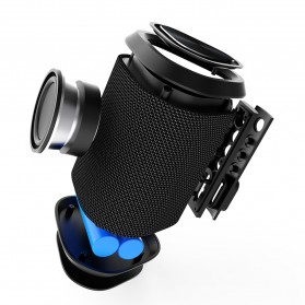 BUBM Portable Bluetooth Speaker Outdoor - M12 - Black - 11