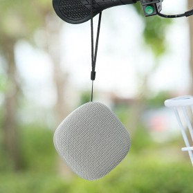 BUBM Portable Bluetooth Speaker Outdoor - M3 - Black - 10