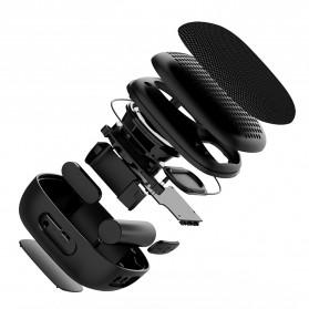 BUBM Portable Bluetooth Speaker Outdoor - M3 - Black - 11