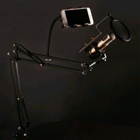 WK Microphone & Smartphone Lazypod Stand - WA-Y01 - Black