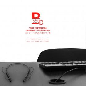 WK Earphone Bluetooth - BD550 - Black - 3