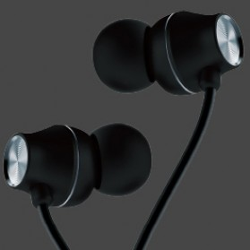 WK Wired Earphone - WI290 - Black