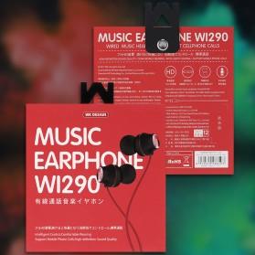WK Wired Earphone - WI290 - Black - 6