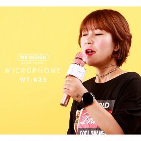 WK Microphone Speaker Karaoke - WT-K25 - Black - 5