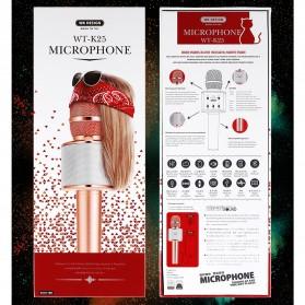 WK Microphone Speaker Karaoke - WT-K25 - Black - 9