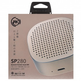 WK Mini Bluetooth Speaker - SP280 - Space Gray - 6