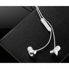 WK Earphone Bluetooth Magnetic with Microphone - BD500 - Black - 4