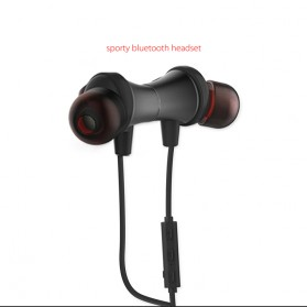 WK Earphone Bluetooth Magnetic with Microphone - BD500 - Black - 7