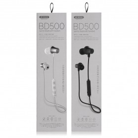 WK Earphone Bluetooth Magnetic with Microphone - BD500 - Black - 9