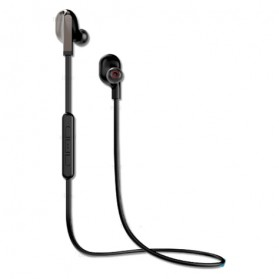WK Earphone Bluetooth Magnetic with Microphone - BD200 - Black