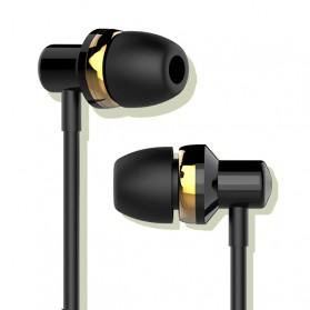 WK Music Earphone with Microphone - WI90 - Black