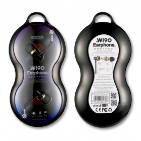 WK Music Earphone with Microphone - WI90 - Black - 8