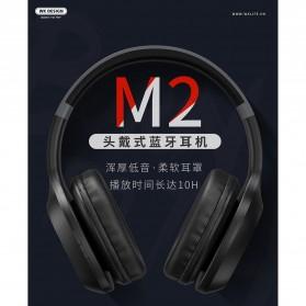 WK Wireless Bluetooth Headphone Headset - M2 - Black - 2