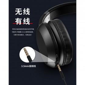 WK Wireless Bluetooth Headphone Headset - M2 - Black - 3