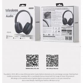 WK Wireless Bluetooth Headphone Headset - M2 - Black - 6