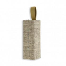 WK Bluetooth Speaker Portable Fabric Design - SP300 - Golden - 3