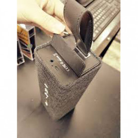 WK Bluetooth Speaker Portable Fabric Design - SP300 - Golden - 5