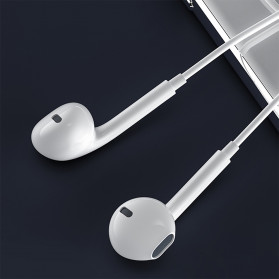 WK Earphone Earpods HiFi 3.5mm with Mic - Y10 - White