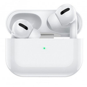 WK Airpods Pro TWS Earphone Bluetooth dengan Charging Case - White - 1