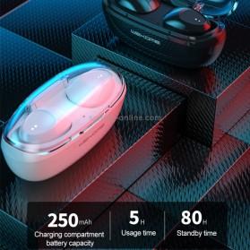 WEKOME Earphone Bluetooth TWS Airpods dengan Charging Case - V25 - Black - 4