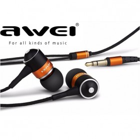 Awei Earphone - ES-Q3 - Orange
