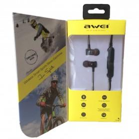 Awei Earphone Bluetooth Sport Stereo dengan Microphone - A920BL - Red - 5