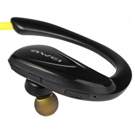 Awei Earphone Bluetooth Sport - A880 - Black - 2
