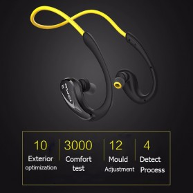 Awei Earphone Bluetooth Sport - A880 - Black - 3