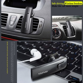 Awei Smart Headset Earphone Bluetooth dengan Car Holder - A833BL - Gray - 2