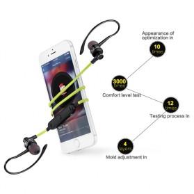 Awei Earphone Bluetooth Sport Stereo dengan Microphone - A990BL - Black - 2