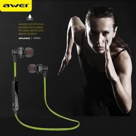 Awei Earphone Bluetooth Sport Stereo dengan Microphone - A990BL - Black - 3